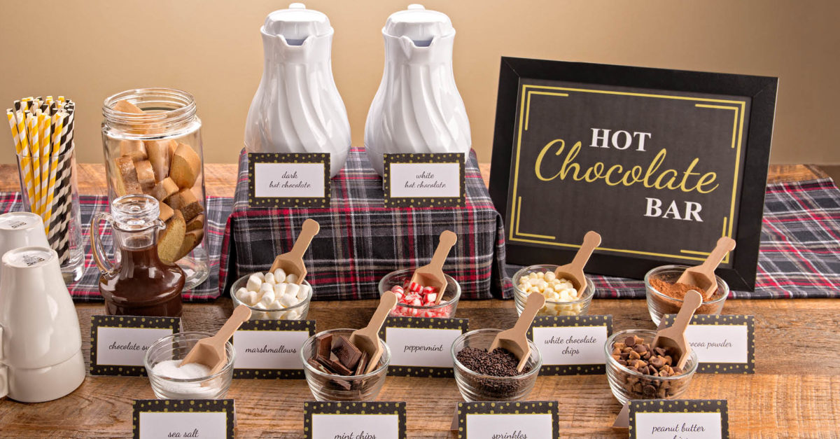 5 Steps For Setting Up Your Own Hot Chocolate Bar