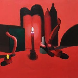 """""""Red Still Life 1"""" – Meg Franklin"""