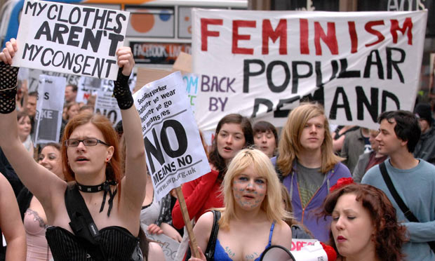 Image result for angry feminist protest