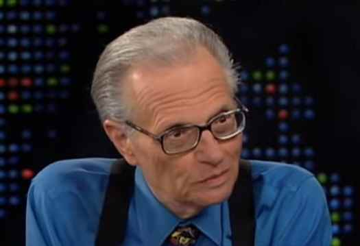 Larry King Blasts Trump Obsessed Cable News, Calls Out CNN ...