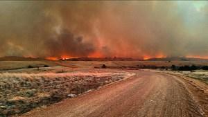 Oklahoma Prairie Fire 1