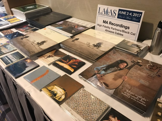 MA Recordings at the LA Audio Show 2017