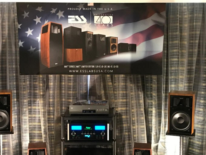 ESS Labs and McIntosh - LA Audio Show 2017
