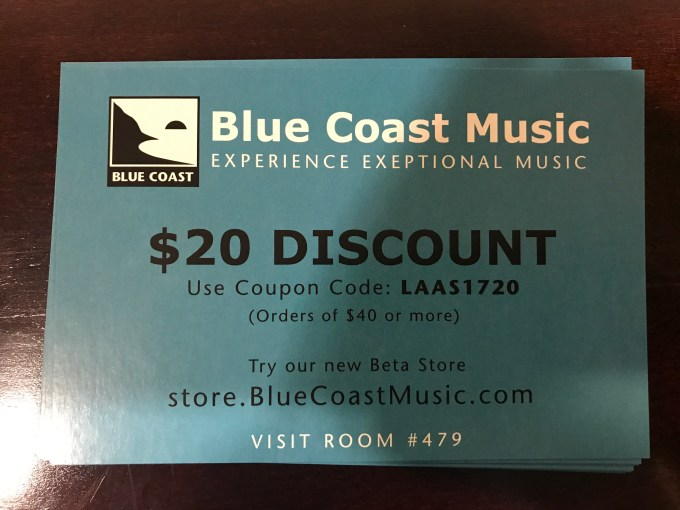 Blue Coast Music - LA Audio Show 2017