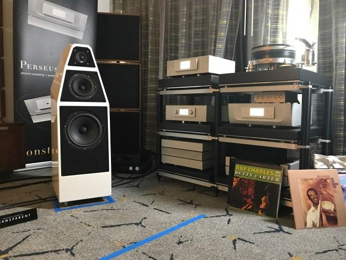 Wilson Audio Yvette with Constellation Audio - LA Audio Show