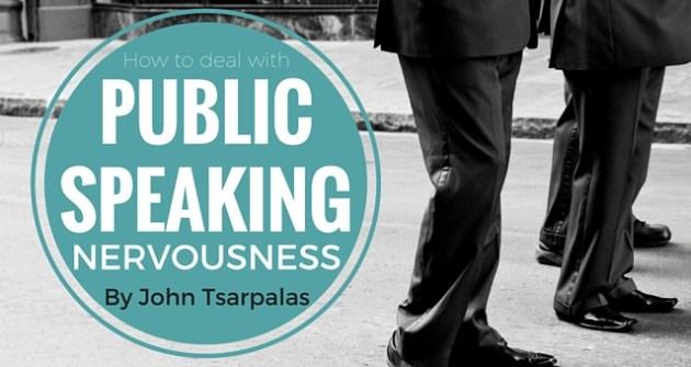 Public Speaking Nervousness