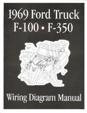 FORD 1969 F100  F350 Truck Wiring Diagram Manual 69 | eBay