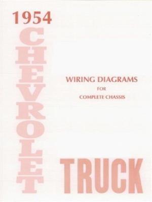 CHEVROLET 1954 Truck Wiring Diagram 54 Chevy Pick Up | eBay