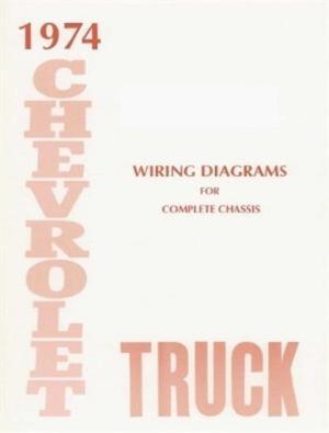 CHEVROLET 1974 Truck Wiring Diagram 74 Chevy Pick Up   eBay