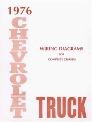 CHEVROLET 1976 Truck Wiring Diagram 76 Chevy Pick Up | eBay