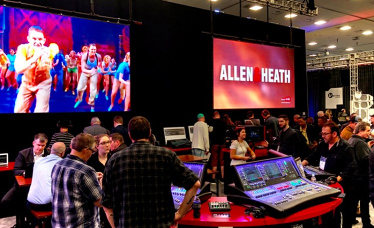 Allen & Heath @ NAMM 2019