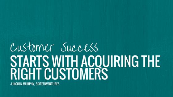 customer success, right customers, data modeling, data-driven marketing
