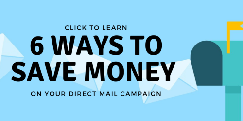 6 ways to save on direct mail