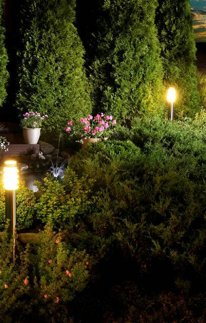 3 beautiful outdoor lighting ideas for