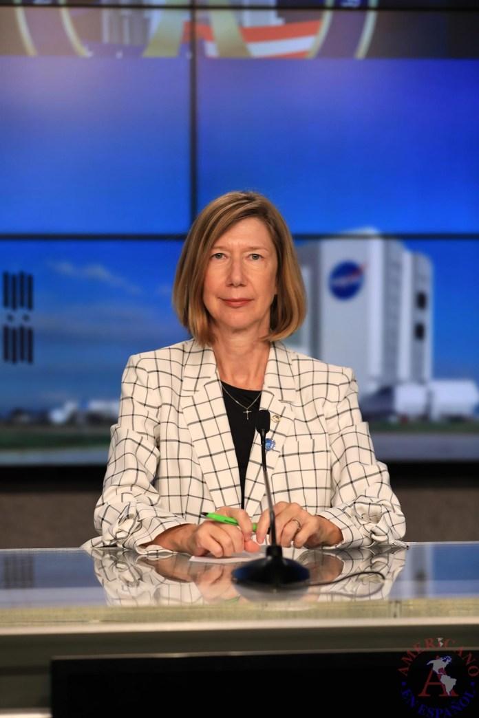 Kathy Lueders, administradora asociada de exploración humana y operaciones en la sede de la NASA.