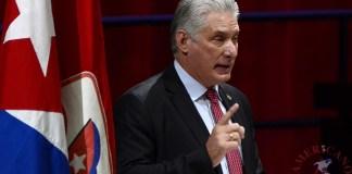 Miguel Díaz-Canel Bermúdez, presidente de Cuba