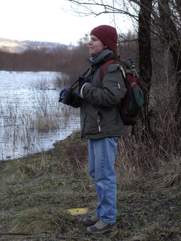alice birdwatching