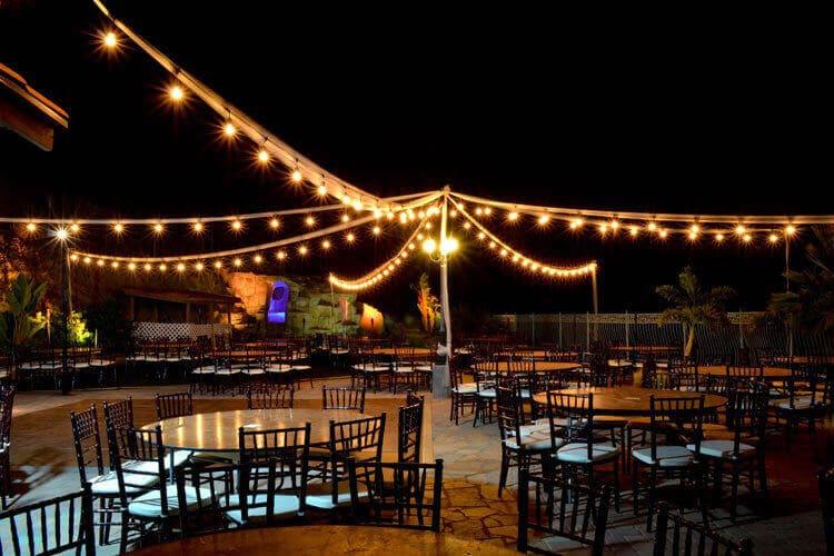 diy wedding light rentals american