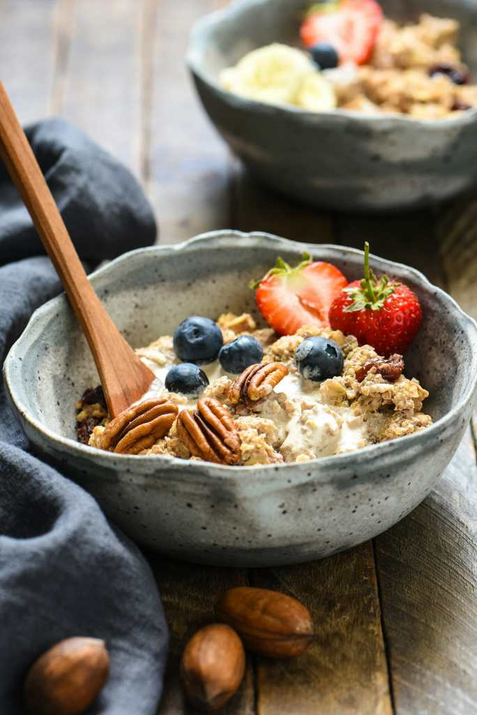 Pecan Milk Breakfast Porridge Recipe - American Pecan Council