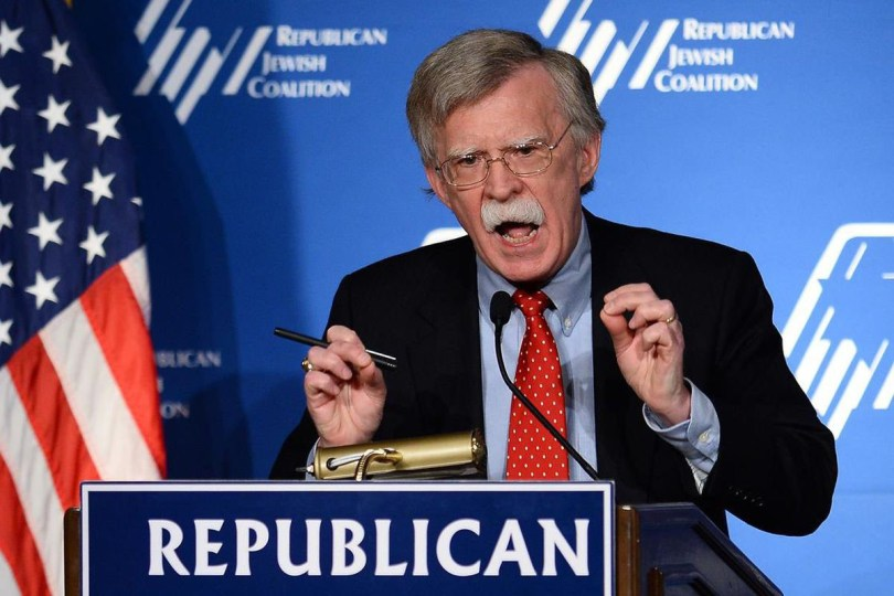JOHN BOLTON still pushing for negative attention to Iran, NOrth Korea and nine other nations we are shooting up