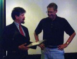 2002 - Recognizing Jules Janick (w/Curt Rom)