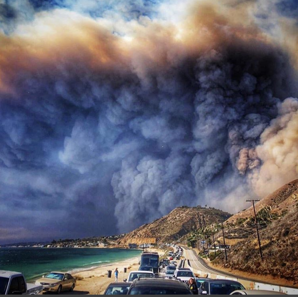 Photo by Woolsey Fire Photo by Patmcgrath308