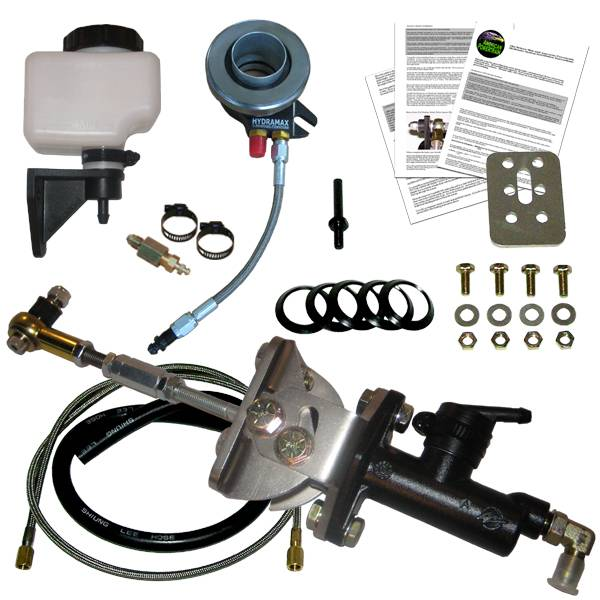 1971-73 Mustang HYDRAMAX Hydraulic Clutch Actuator System for  TKO/T45/3650/T5/T56/Magnum - American Powertrain