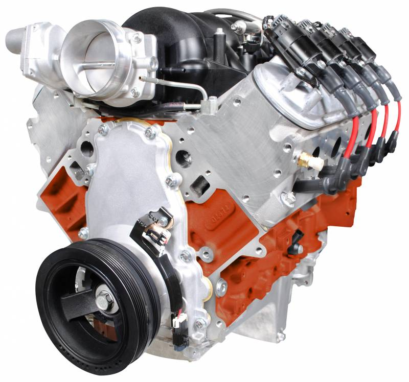 GM 427 LS Series Dressed Fuel Injected Drop-in Aluminum