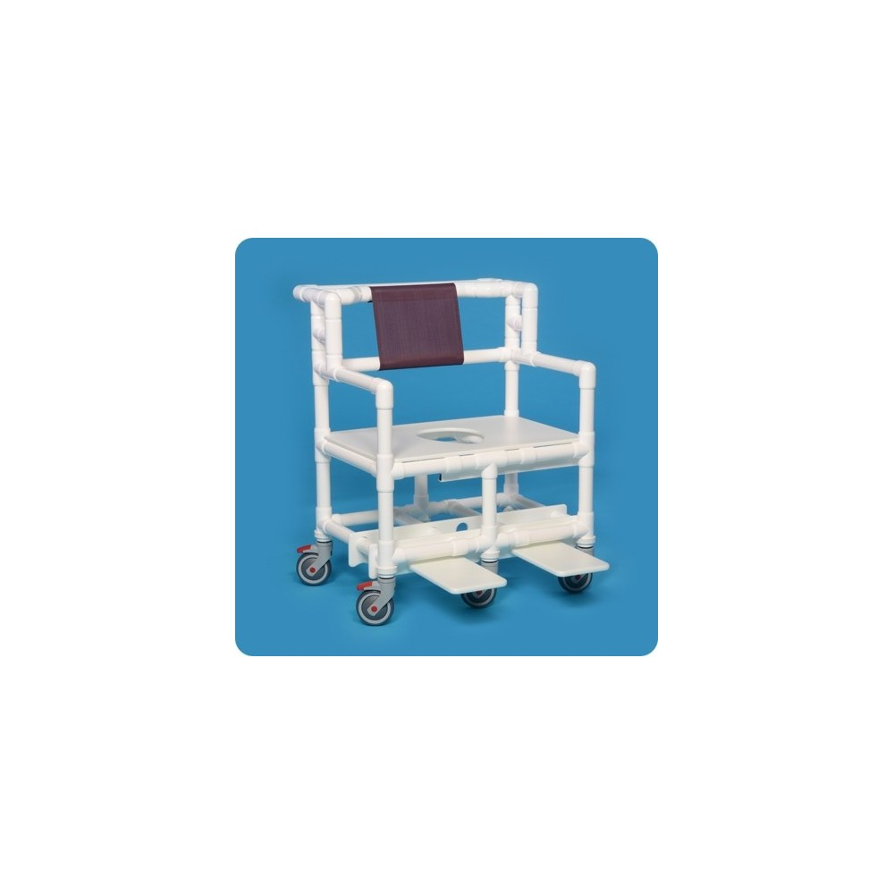 Reclining Shower Chair With Casters 5