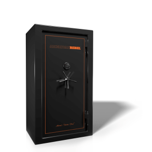 AR-30 Black Smoke Safe with Orange trim