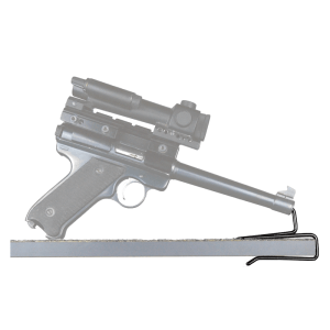Back-Over Handgun Hangers