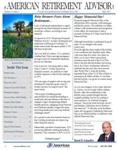 5-2015 May Newsletter Cover