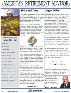 2-2015 February Newsletter Cover