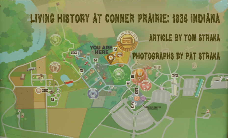 Prairie Indiana Map Conner