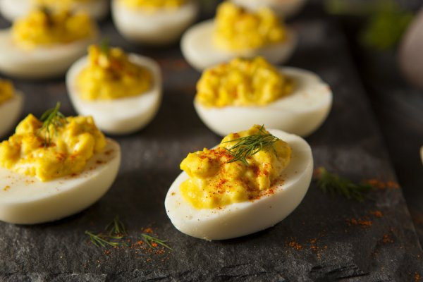 not your moms deviled eggs