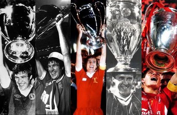 Image for 1. On June 1st Liverpool will have been involved in how many Champions League (formerly European Cup) Finals?