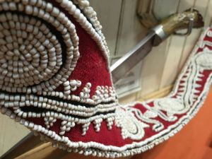 House Lally Beaded strap close up-min