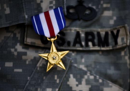 Silver star Green Beret