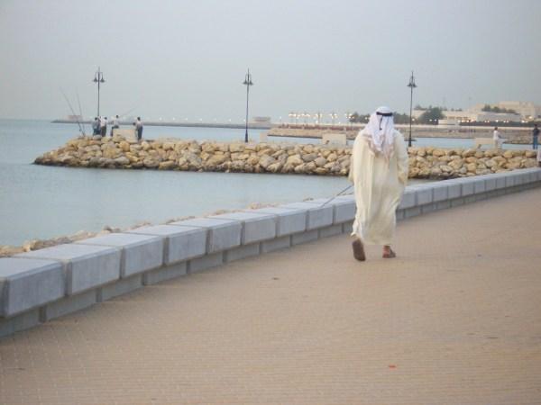 Danielle Breteau in Kuwait