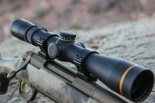 The Leupold CDS offers a custom dial option or, as shown here, you can opt for mil or MOA adjustments. This helps take the guesswork out of long-range hunting.