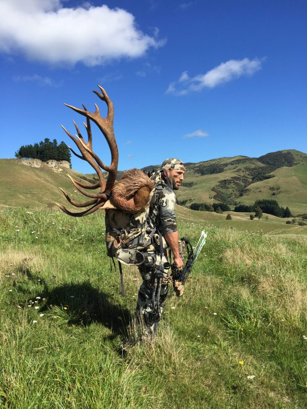 Hailing from California's Central Valley and best known as a UFC fighter, Chad Mendes also enjoys traveling far in search of great hunting. He took this red stag in New Zealand.