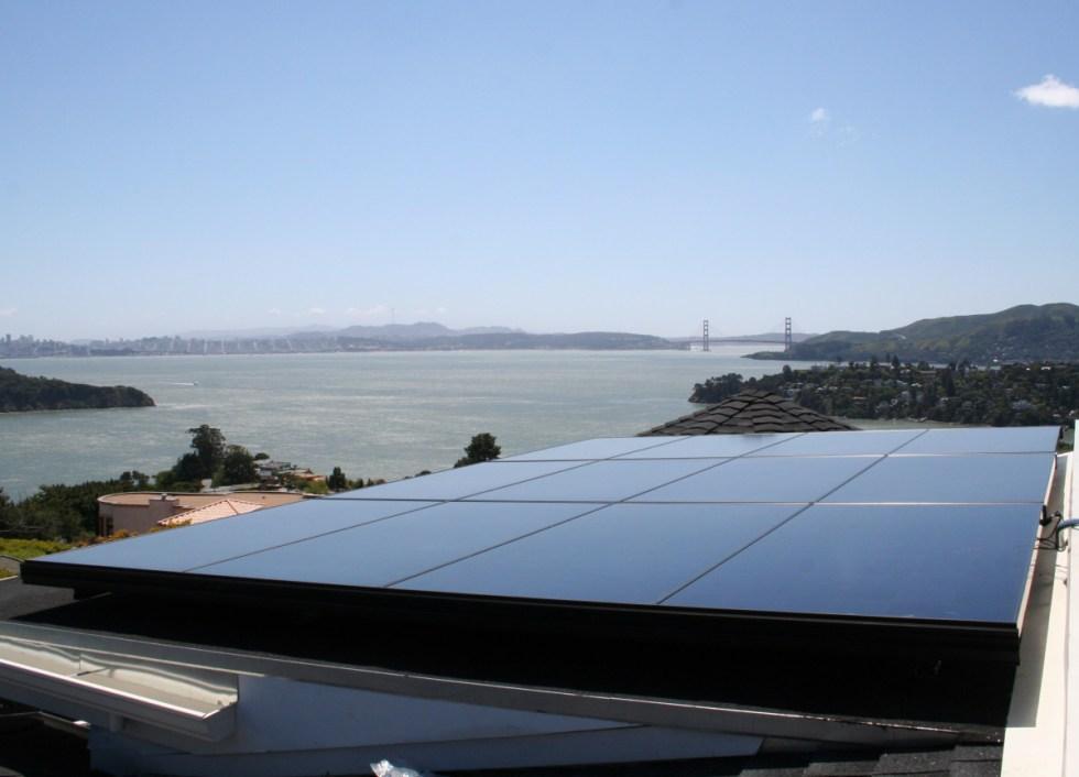 Solar PV, SUNPOWER, American Solar, Tiburon, Marin County