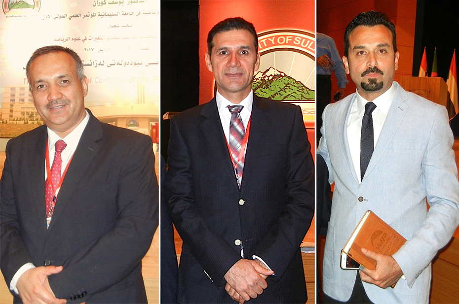 Sulaimani University Officials