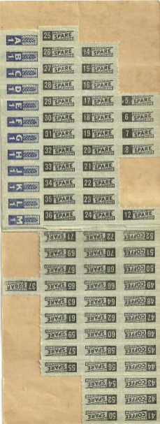 Ration Stamps
