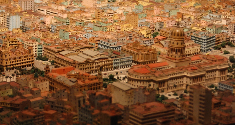 Model of Old Havana