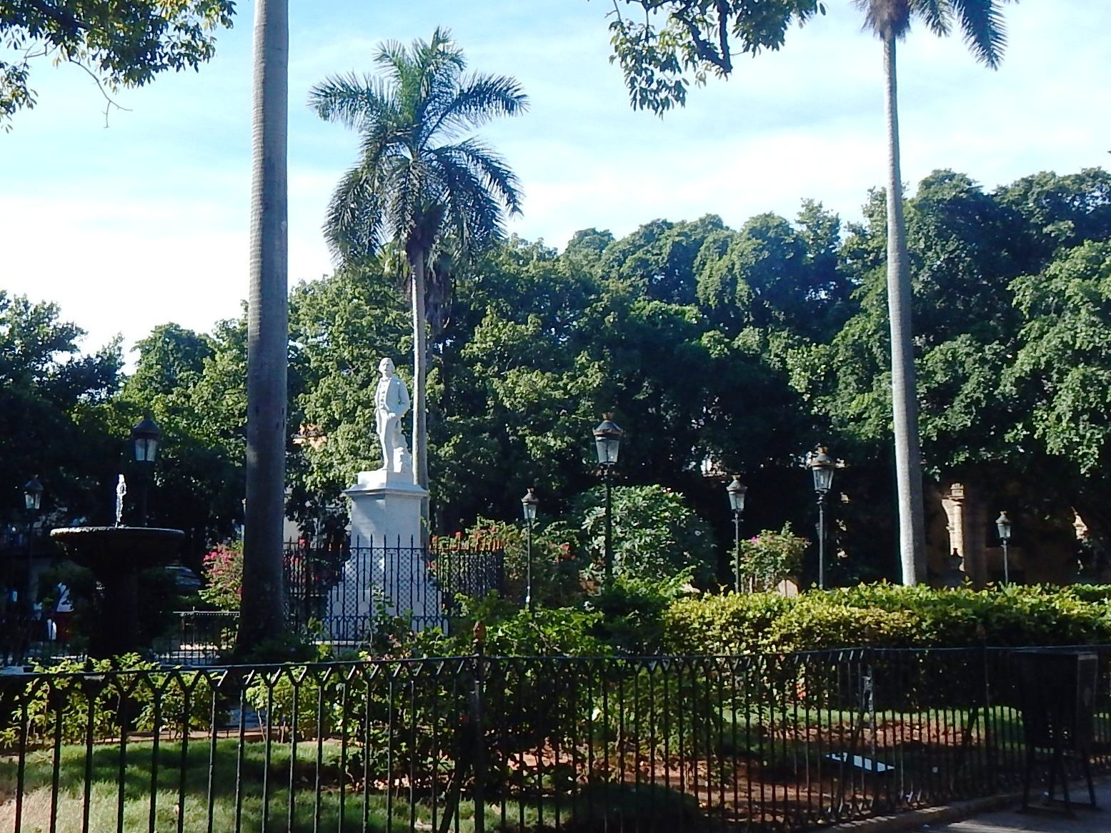 Carlos Manuel de Cespedes Statue, Old Havana
