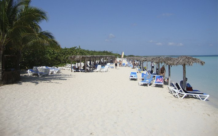 Beach at Memories Caribe, Cayo Coco