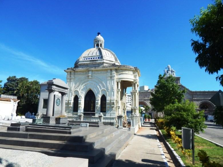 mausoleums Colon Cemetery, Havana