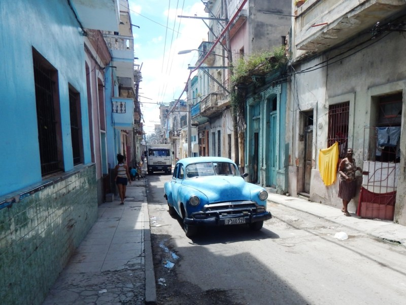Old classic car in Havana