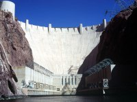 The Hoover Dam, completed during FDR's presidency, was a huge boon to the state of Arizona by providing electricity and water . (Bureau of Reclamation)
